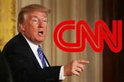 دعوای سیانان و ترامپ بالا گرفت | پاسخی به «شیرینکاری کاخ سفید»