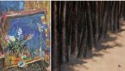 حراج هنر خاورمیانه بونامز | آثار منوچهر یکتایی و سهراب سپهری گرانترین