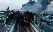 عکس روز: ایستگاه سوخته