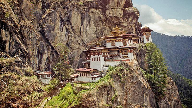 چشماندازهاي كشور بوتان