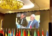 ظریف در نشست باکو: غرب آسیا از اقدامهای خلاف نظم جهانی رنج میبرد