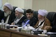 تصاویر | جلسه تشخیص مصلحت نظام | اخم حداد عادل و خنده احمدی نژاد