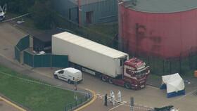 کشف اجساد ۳۹ نفر در یک کامیون