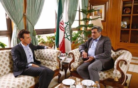 ديدار شهردار تهران با سفير ايتاليا