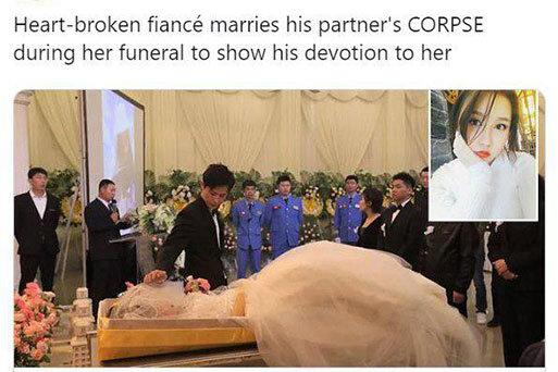 ازدواج عروس مرده