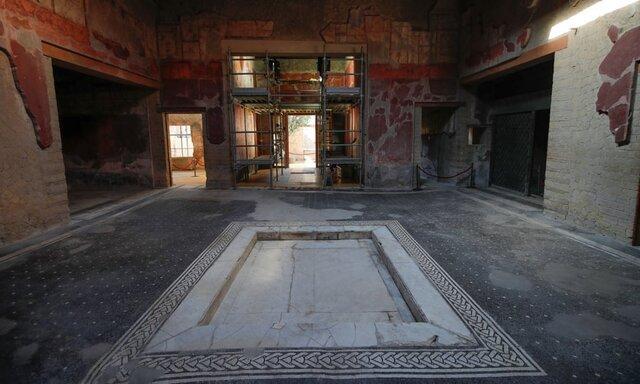 ویرانههای شهر باستانی هرکولانیوم