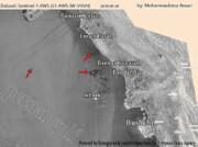 تصویر ماهواره هواشناسی از آلودگی نفتی خلیج فارس