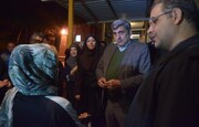 بازدید شبانه شهردار تهران از گرمخانههای مناطق ٢١ و ٢۲