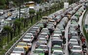 گزارش پلیس راهور از وضعیت ترافیکی تهران بارانی