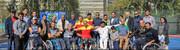 پایان مسابقات قهرمان کشوری تنیس با ویلچر با قهرمانی آذربایجان شرقی