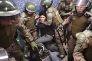 رئیس جمهوری شیلی خشونت پلیس را محکوم کرد
