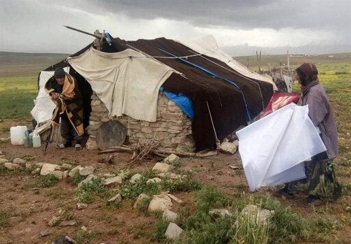 عشایر سیلزده