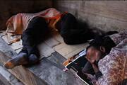 برای کمک به افراد بیخانمان با ۱۳۷ تماس بگیرید