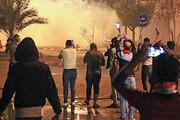 ادامه اعتراضات در عراق | اصابت خمپاره به نزدیکی سفارت آمریکا در منطقه سبز بغداد