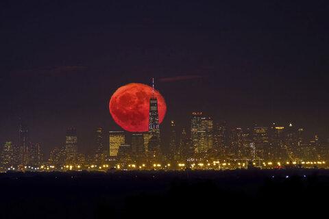 مهتاب خونین در شهر نیویورک، امریکا