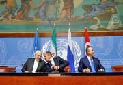ایران به خواست دولت و ملت سوریه در این کشور میماند | نشست ایران، روسیه و ترکیه در سوئیس