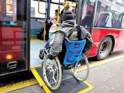 قم دارای اتوبوسهای درون شهری ویلچر رو شد