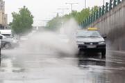 تعطیلات بارانی ایران
