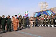 حضور فرمانده کل قوا در مراسم دانشآموختگی دانشجویان افسری ارتش