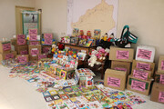 اهدای ۱۸ هزار جلد کتاب به سیلزدگان