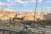 تخریب واحدهای تجاری غیرمجاز در منطقه۱۹