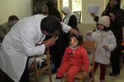 بیناییسنجی کودکان در فرهنگسرای فردوس
