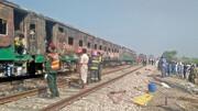مرگ ۷۰ نفر در انفجار قطار مسافربری در پاکستان