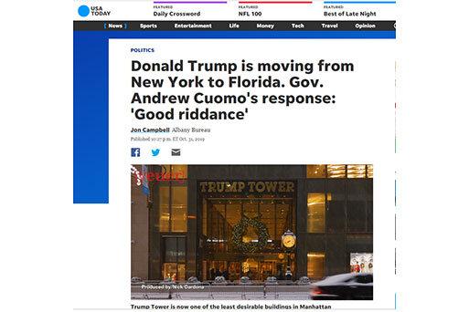 ترامپ فلوریدا نیویورک