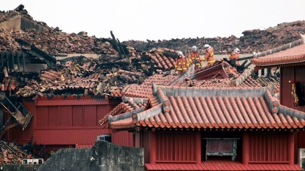 آتش در قلعه تاریخی شوری