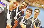 پنج مدال رنگارنگ از عمان و لهستان برای تنیس روی میز ایران