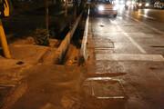 جولان موشها در خیابانهای قلب پایتخت