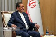 تاکید اسحاق جهانگیری بر گسترش مناسبات ایران و ازبکستان