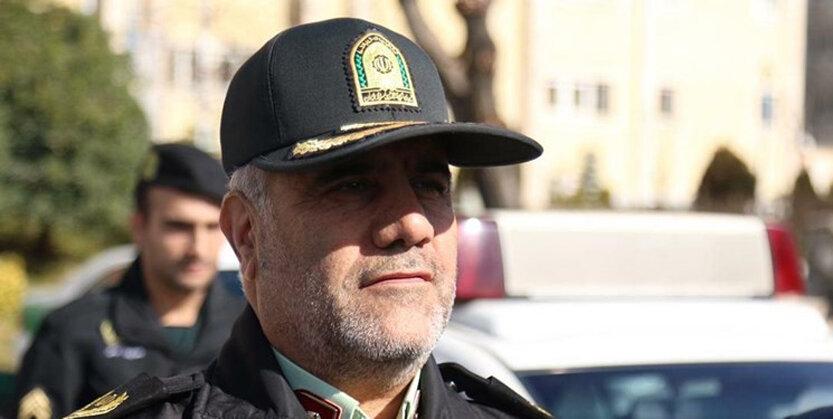 سردار حسین رحیمی، فرمانده انتظامی پایتخت