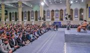 دیدار دانشآموزان و دانشجویان با رهبر انقلاب در آستانه ۱۳ آبان