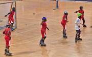 اولین دوره مسابقات اسکیت رولبال جوانان برگزار شد