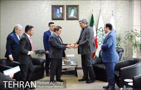ديدار شهردار تهران با دبیرکل سازمان شهرهای متحد