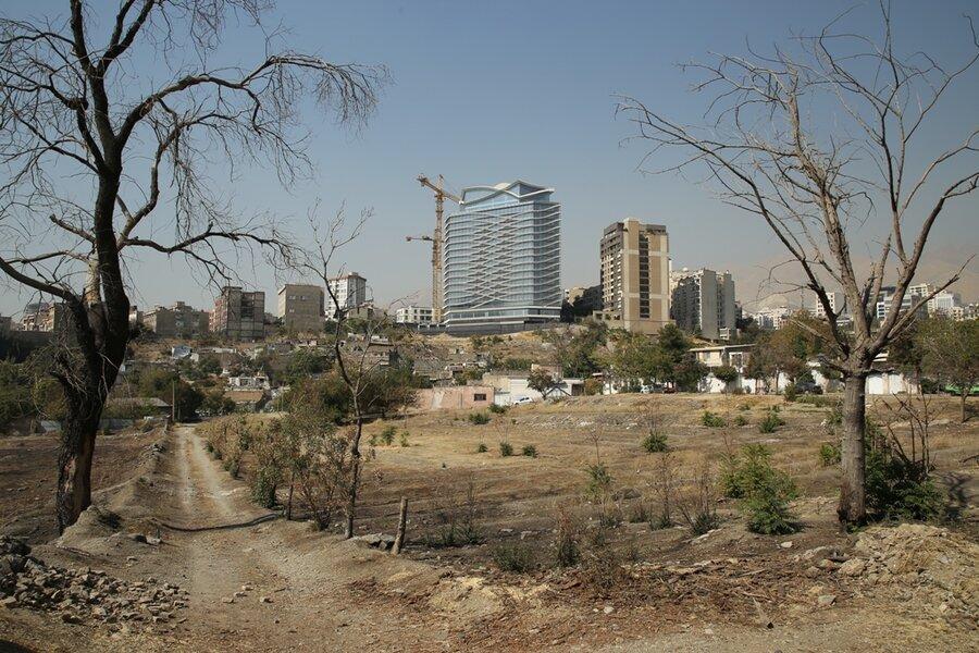 برج باغ فضای سبز ساخت و ساز