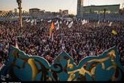 جشن بزرگ بیعت در میدان آیینی امام حسین(ع)