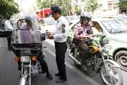 اجرای طرح ساماندهی موتور سیکلت ها در منطقه۱۲