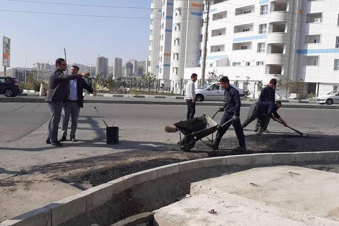 بازگشایی معبر خیابان اردستانی