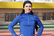 سریعترین دونده زن ایران در پارتیزان