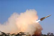 پدافند هوایی ارتش یک پهپاد ناشناس را مورد اصابت قرار داد