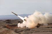 نخستین تصاویر انهدام یک پهپاد توسط پدافند هوایی ارتش