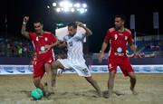 درخشش حسینی و صعود ایران به فینال فوتبال ساحلی جام بین قارهای | دیدار با اسپانیا در فینال