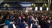 تجمع اعتراض آمیز به نمایش فیلم مستهجن در تفلیس | اعتراضات به خشونت کشیده شد