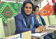 نظارت بانوی ایرانی بر تمام بازیهای جام جهانی فوتبال ساحلی