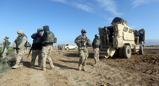 عراق، نيروهاي آمريكايي
