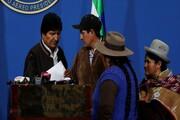 مورالس خواستار برگزاری انتخابات مجدد در بولیوی شد