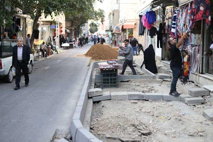 بازارچه جلیلی _ساماندهی معابر