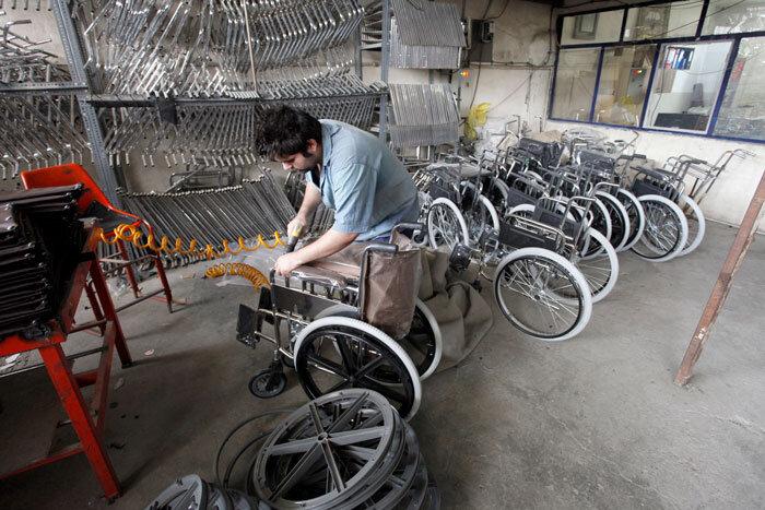 کارگاه ساخت ویلچر